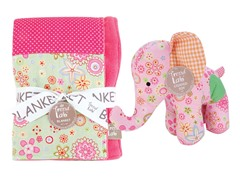 Sherbet Blanket & Buddy Set