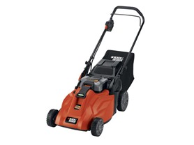 Cordless Electric Lawn Mower with Removable Battery