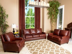 Carrington Leather 3-Pc Set