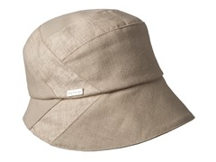 Daisy Fabric Bucket Hat, Natural