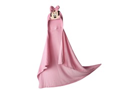 Minnie Mouse Hooded Wrap - Youth