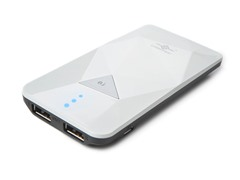 Power Gem 3500 Power Bank - White