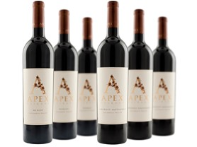 Apex Cellars Cabernet and Merlot 6-Pack