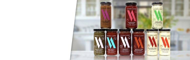 Victoria Amory Condiment Collection