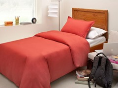 Tencel Lyocell 300TC Duvet Set Red - 4 Sizes