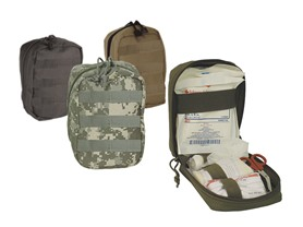 Voodoo Tactical Trauma Kit, 4 Colors