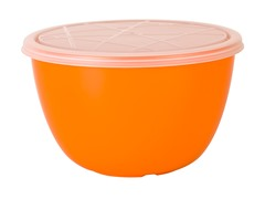 Zak Designs Pub Orange 1.5 Qt Serve Bowl