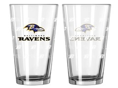Ravens Pint Glass 2-Pack