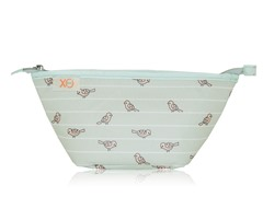 XO Beauty Clutch Sage Birds