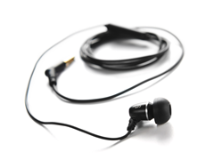 JLab Single Bud Headset w/ Kevlar Cable
