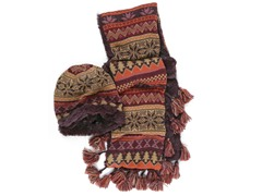 MUK LUKS® Beanie and Scarf Set Multi