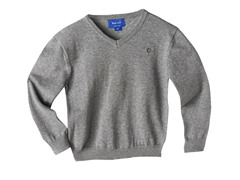 V-Neck Sweater - Grey (3T-4T)