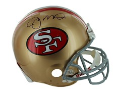 Joe Montana Signed Authentic 49ers Helm