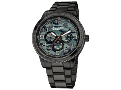 August Steiner Multifunction Bracelet Watch
