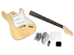 Unfinished Strat Electric Guitar Kit