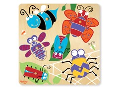 P'Kolino 6-Piece Bug Puzzle