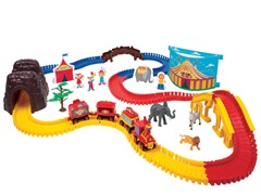 Animal Trackers Train Set