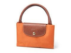 Longchamp Le Pliage Handbag, Orange