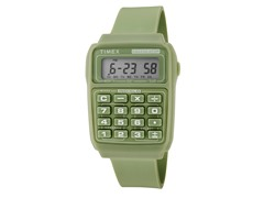 Timex Multifunction Calculator Watch - Green