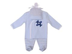 Blue 3-Piece Set (0-9M)