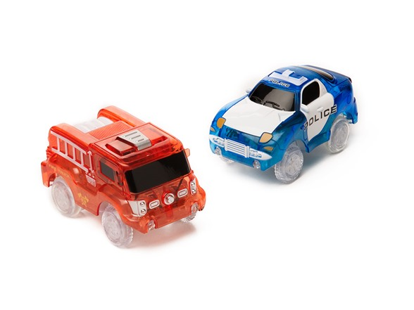 Neotracks 255pc Glow In The Dark Race Set Kids Amp Toys