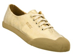 Skechers Women's Bobs Oxford, Gold (9)