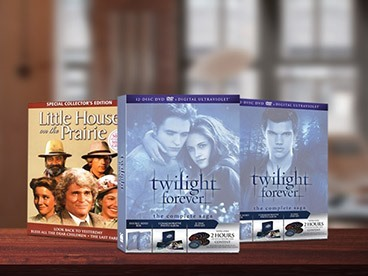 Twilight & Little House on the Prairie DVD