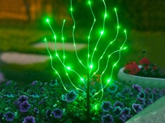 Anywhere LED Branch Light, Green