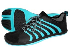 Cinch Ninja Shoes, Black/Aqua