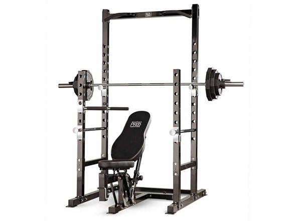 Marcy Power Rack And Weight Bench Set