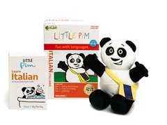 Volume 1 w/ Flashcards & Panda - Italian