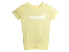 Woot! Kids' T-Shirt - Lemon