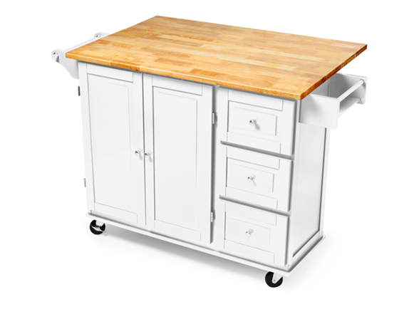 Three Drawer Kitchen Cart (3 Colors