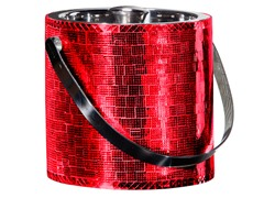 Oggi 64 oz Ice Bucket - Red