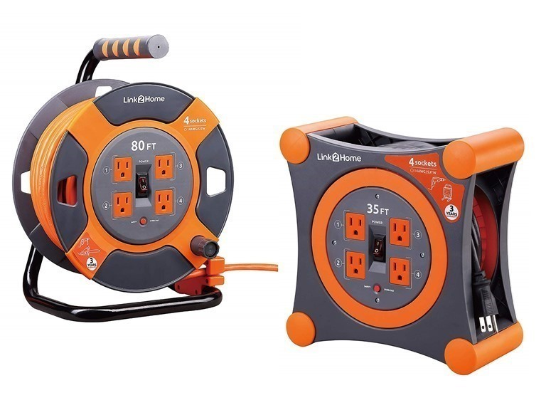 Link2Home Extension Cord Reels
