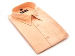 Oleg Cassini Men's Dress Shirt, Peach