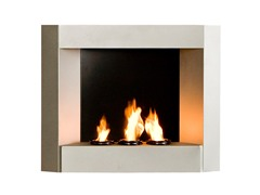 Wall Mount  Fireplace - Silver
