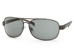 Gunmetal/Blue Aviator 21 Sunglasses