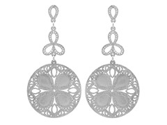 Frost Filigree Earrings