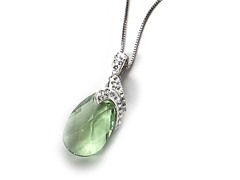 Green Drop Pendant