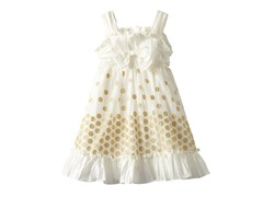 Crinkle Taffeta Dress (Sizes 2T-4T)