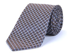 Silk Tie, Grey Multi