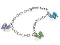 Swarovski Elements Charm Bracelet