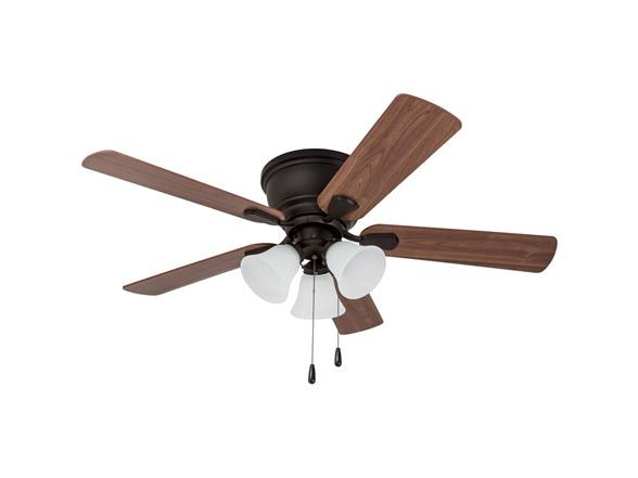 Image of Saddle Ridge Low-profile Hugger Ceiling Fan
