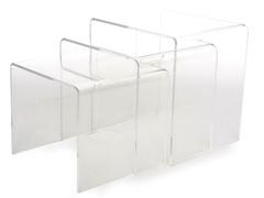 Mercutio3-Piece Acrylic Nesting Tables