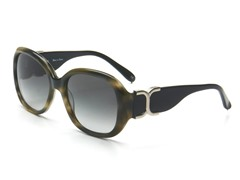 Chloe Sunglasses - Green Horn