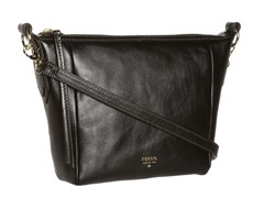Fossil Sydney Crossbody, Black