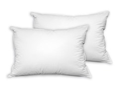 PermaLoft™ Never Flat Down Alternative Gel Pillow-S/2