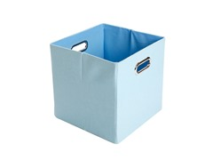 Sky Baby Blue Folding Storage Bin
