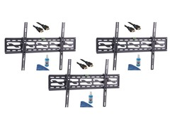 "3pk 4-Piece Tilt Mounting Kit For 32-72"" TVs"